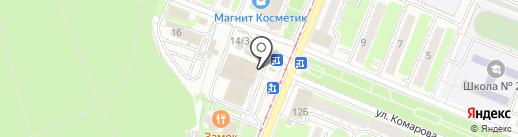 Райский уголок на карте Курска
