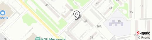 Кокетка на карте Орла