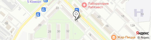 Аэлита-Орел на карте Орла