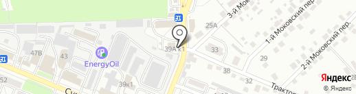 Магазин домашнего текстиля на карте Курска