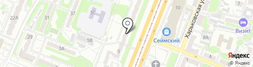 Клиника Стародубцева А.В. на карте Курска