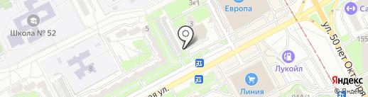 Гараж и К на карте Курска