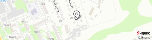 TeslaMotors на карте Курска