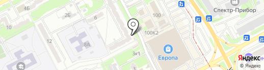 Тортуга на карте Курска