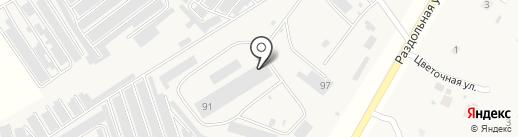 Хим-Стар на карте Орла