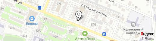 Банкомат, АКБ Связь-банк, ПАО на карте Курска