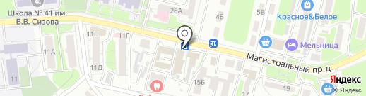 Турист+ на карте Курска