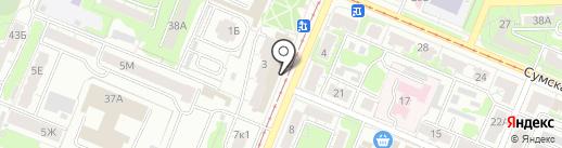 Бреггир на карте Курска