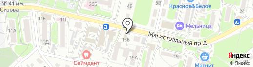 Магазин автозапчастей для КАМАЗ на карте Курска