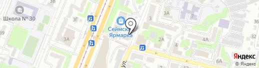 ДЖОНИ-ГЕЙМ на карте Курска