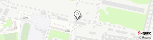 Курская хлебная база №24 на карте Курска
