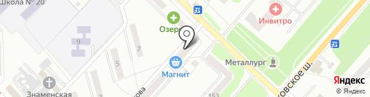 Компания по оказанию ритуальных услуг на карте Орла