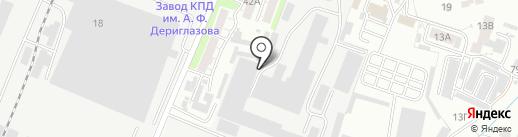 На Народной на карте Курска