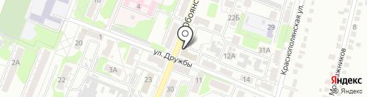 Восток на карте Курска