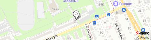 Сеть эконом-супермаркетов на карте Курска