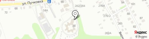 Областной специализированный дом ребенка на карте Курска