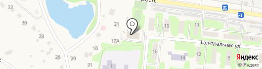 Шопинская сельская библиотека на карте Шопино