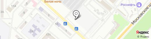 Северный рынок на карте Орла