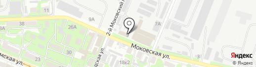 КурскПАК на карте Курска