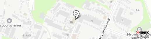 Сервис №1 на карте Курска