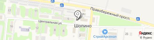 Парикмахерская на карте Шопино