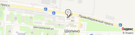 Магазин детской трикотажной одежды на карте Шопино