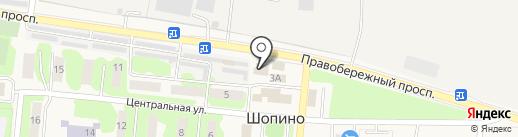 Магазин на карте Шопино