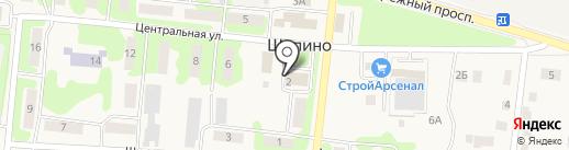 Почтовое отделение №36 на карте Шопино