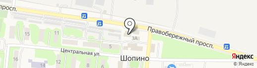 ЮгТеплоТрейд на карте Шопино