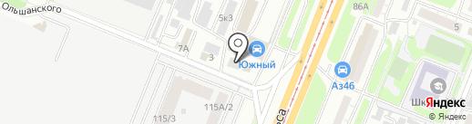 Парламент на карте Курска