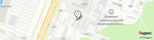 Стеклим-Авто на карте Курска