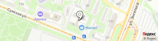 Бухгалтерская компания на карте Курска