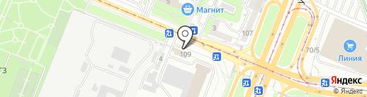 Мужское и женское на карте Курска