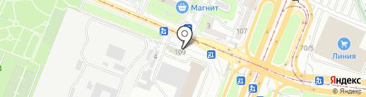 Синьор Антонио Петти на карте Курска