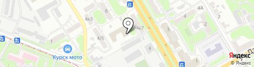 Управление Федеральной службы государственной регистрации, кадастра и картографии по Курскому району на карте Курска