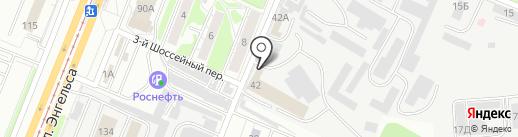 Автогаз на карте Курска