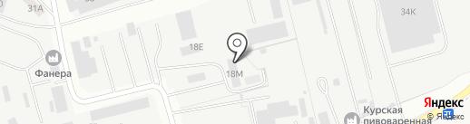 Торгово-строительная компания на карте Курска