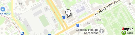 МПК Соловей на карте Курска