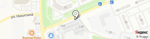 Garage на карте Курска