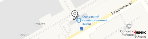 Промальянс на карте Орла