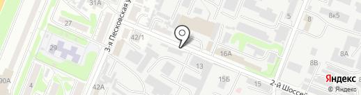 Авторемдвигатель на карте Курска