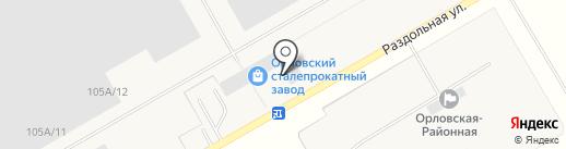Воронежский экономико-правовой институт на карте Орла