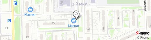 Шалуны на карте Курска