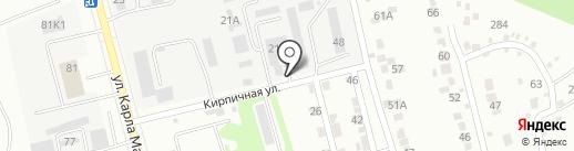 Транспортно-ремонтная компания на карте Курска
