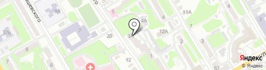 Роботрек на карте Курска