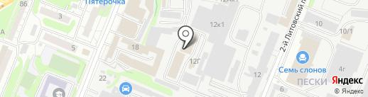 АВТОКЛЮЧ на карте Курска