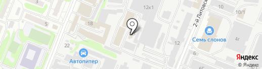 Автопромзапчасть на карте Курска