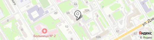 Курская служба недвижимости на карте Курска