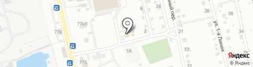 Общественная баня Пожидаева на карте Курска