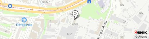 КомпьюСити СОФТ на карте Курска